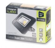 50W LED Floodlight Slim Edition | IP67 Waterproof | 500 Watt Equivalent | Cool White|INTEGRAL